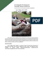 Preventing the Development of Sexually Abusive Behaviors
