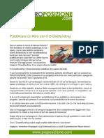 Pubblicare un libro con il Crowdfunding