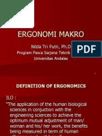 Pertemuan 10 - Ergonomi Makro