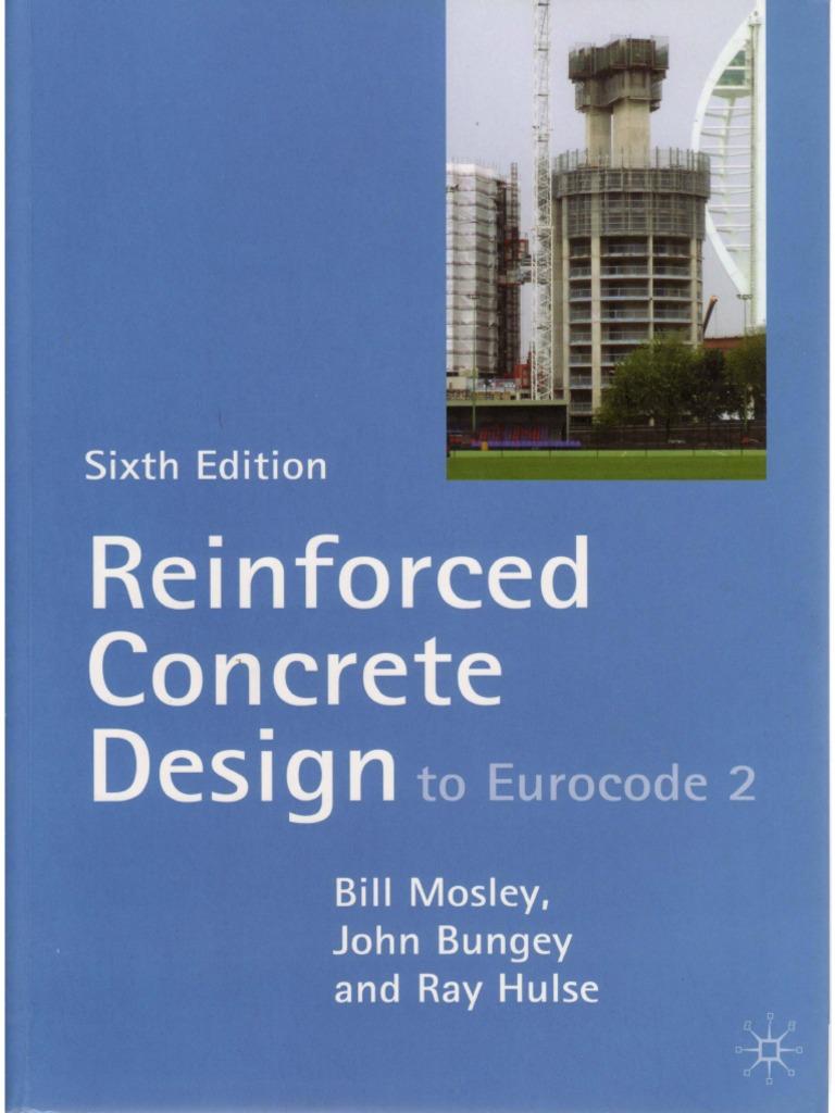 Reinforced Concrete Design to Eurocode 2 Strength Of Materials