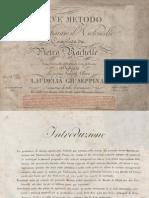 Rachelle Pietro - Breve Metodo Per Imparare Il Violoncello