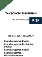 TAKSONOMI TUMBUHAN