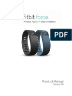 Fitbit Force Product Manual - English - Original