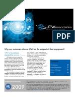JPW Deliverables Brochure