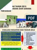 Ditjen Psps - Dak Psp 2013