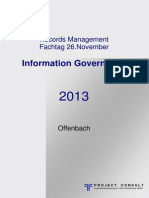 [DE] 7. Records Management Fachtag 2013 | Dokumentation