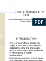 Teaching Literature in Film