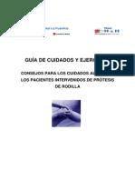 Guia de Cuidados Al Alta Pacientes Protesis de Rodilla