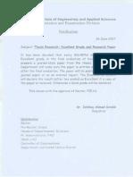 Project Note Registrar