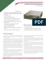 Anexo 3 - UHF ISDB-T Transmitter DTX-120W