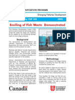 Ensiling of Fish Waste