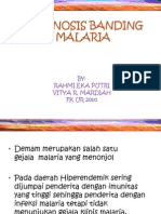 Diagnosis Banding Malaria