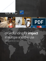 Crowdfunding for Impact in Europe and the USA