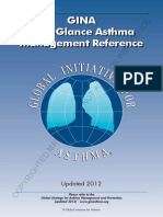 Asthma - Gina At A Glance - 2012