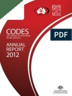 CODES Annual Report 2012