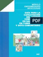 Guía para la capacitación del agente comunitario en salud (ACS) en tuberculosis y DOTS comunitario