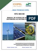 NTC 905100 MANUAL DE ACESSO DE GERAÇÃO DISTRIBUÍDA AO SIST DA COPEL.pdf