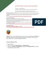 Adblock Plus Es Un Complemento Para
