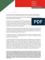 Finmeccanica annuncia il perfezionamento dell'accordo per la cessione di Ansaldo Energia