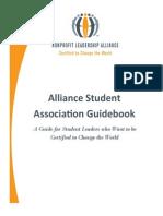 alliance student association guidebook