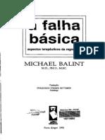 Michael Balint - A Falha Basica