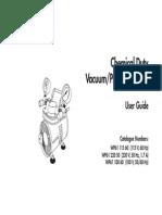 Millipore Chemical Duty Vacuum Pump