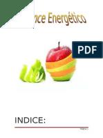 Balance energético Pablo