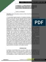 Articulo Pobreza Urbana Asentamiento Humano Santa Rosa Provincia de Chupaca