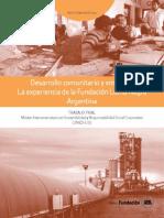 Desarrollo Comunitario y Empresa-La experiencia de Fundación Loma Negra-Argentina