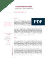 Crisis Agropecuaria México
