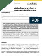 CIANOALERTA - Estrategia Para Predecir El Desarrollo de Cianobacteris Toxicas en Embalses