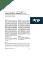 Metodologias Activas Para Competencias - Fernandez