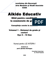 Manual Aikido Ghid 1 Grade Generale