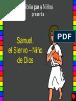 Samuel, el siervo  - niño de Dios.