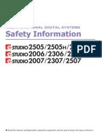 Safety Information En