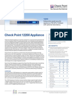 12200 Appliance Datasheet