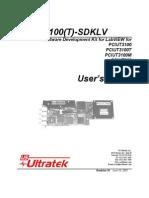 PCIUT3100sdkLV - PCIUT 3100 software development kit.