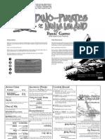 Dino Pirates of Ninja Island Old School Hack Pocketmod