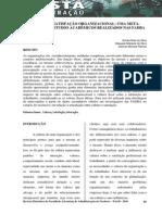 CULTURA E SATISFAÇÃO ORGANIZACIONAL UMA META-ANÁLISE DOS ESTUDOS ACADÊMICOS REALIZADOS NAS FADBA