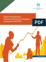 Buku Panduan Monitoring Evaluasi Pelaksanaan Perencanaan dan Penganggaran yang Responsif Gender