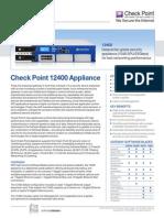 12400 Appliance Datasheet