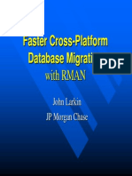 Larkin_Database Migration With RMAN