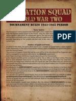 Operation Squad Tournament Rules