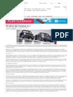 50 años del Porsche 911