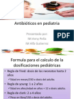 Antibióticos en pediatria