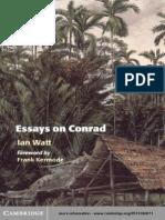 54616978 Watt Ian Essays on Conrad