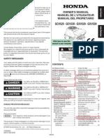 Honda fűnyíró manual
