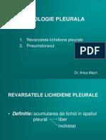 Patologie Pleurala Curs