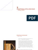 A Brief History of the Artists Book