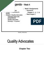 Ch02 Quality Advocates